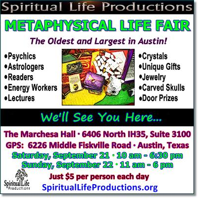 Metaphysical Life Fair flyer 9-21-13