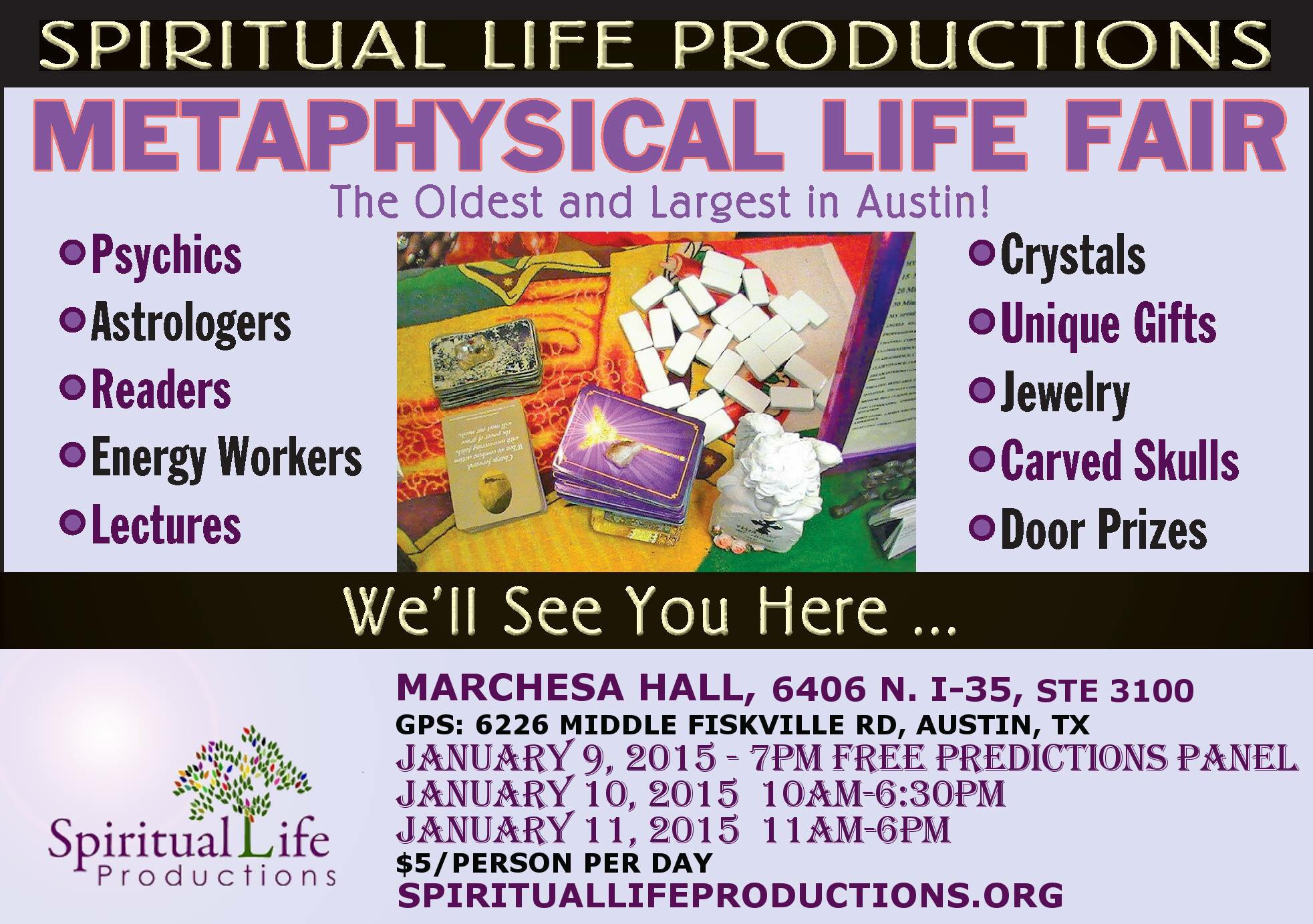 Winter Metaphysical Life Fair